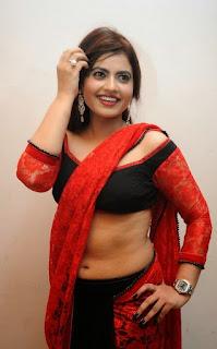 new actress hot images in saree