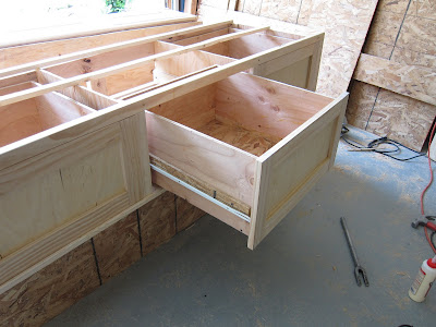 do it yourself divas diy king size storage bed part 2 drawers - King Size Bed Frame With Drawers