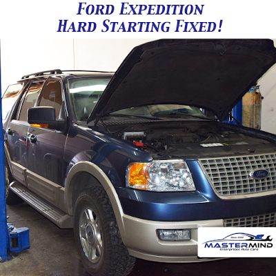 Ford Expedition Hard Starting Fixed!