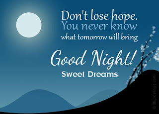 good night sms text