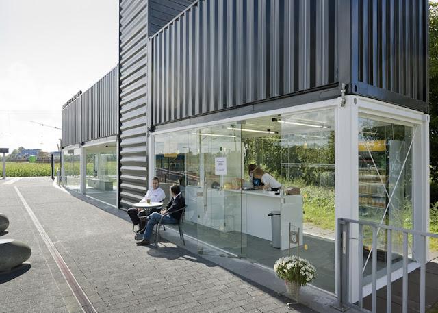 Остановка из контейнеров - Barneveld Noord