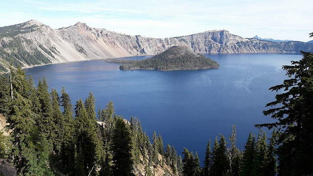 Wizard Island at Crater Lake National Park