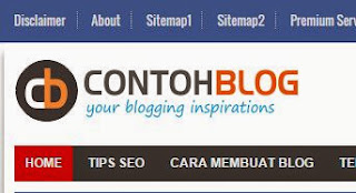 Cara Membuat Menu About & Sitemap di Navigasi Menu Blog