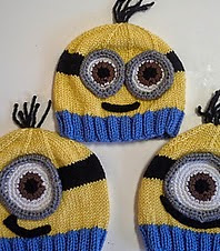 http://www.ravelry.com/patterns/library/minion-hats