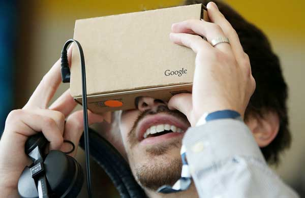 Google develop VR version for Android Chrome