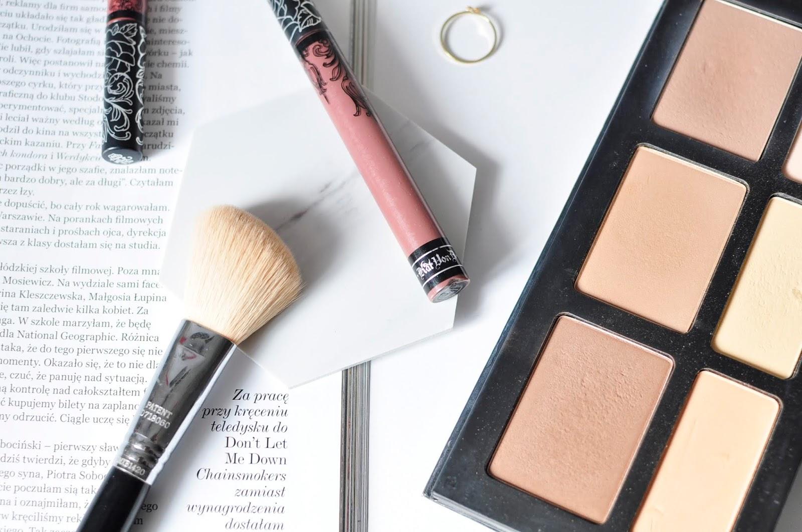 #oszczędzamy, czyli tańsze zamienniki drogich produktów | Everlasting Liquid Lipstick - Sanctuary KAT VON D
