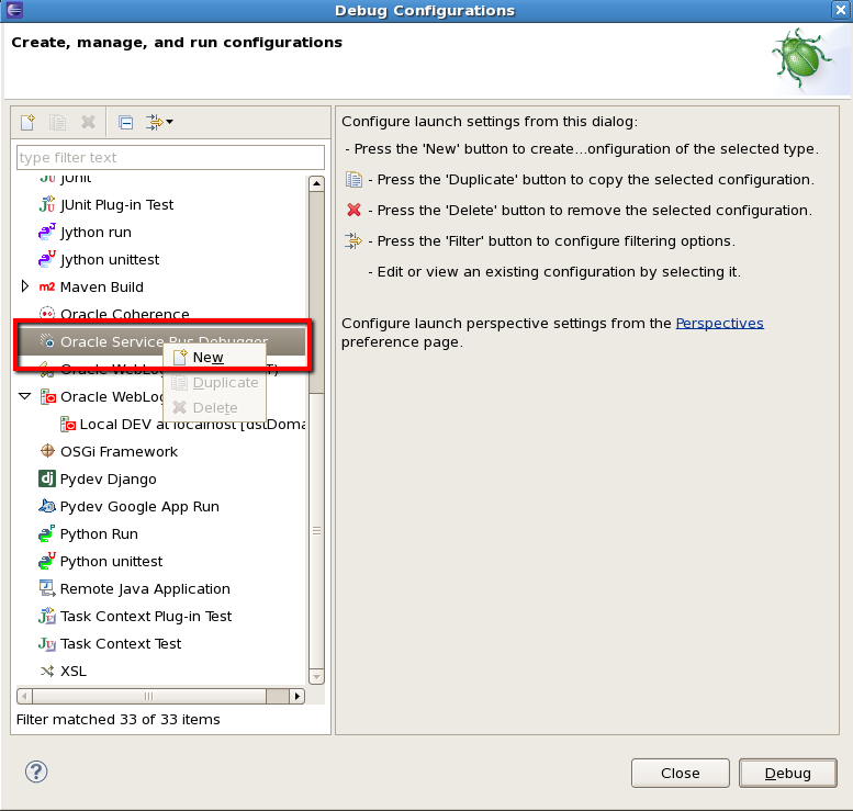 Simplifying SOA: Debug OSB in Eclipse