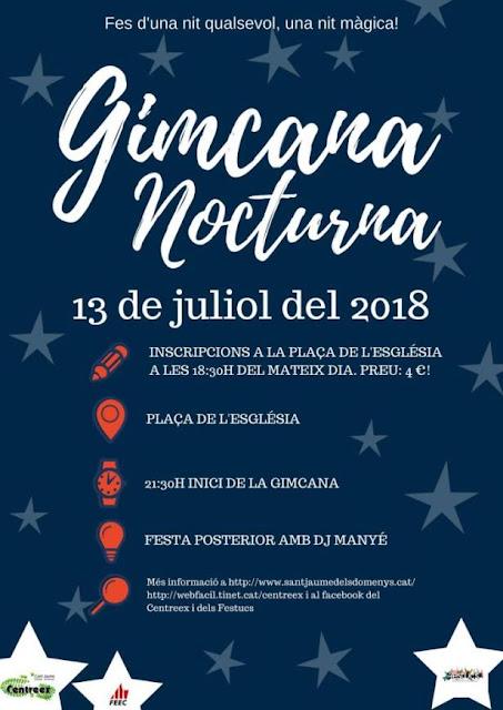 Esguard de Dona - Gimcana Nocturna 2018 - Sant Jaume dels Domenys