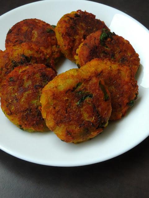 Zucchini Patties, Zucchini Tikkis