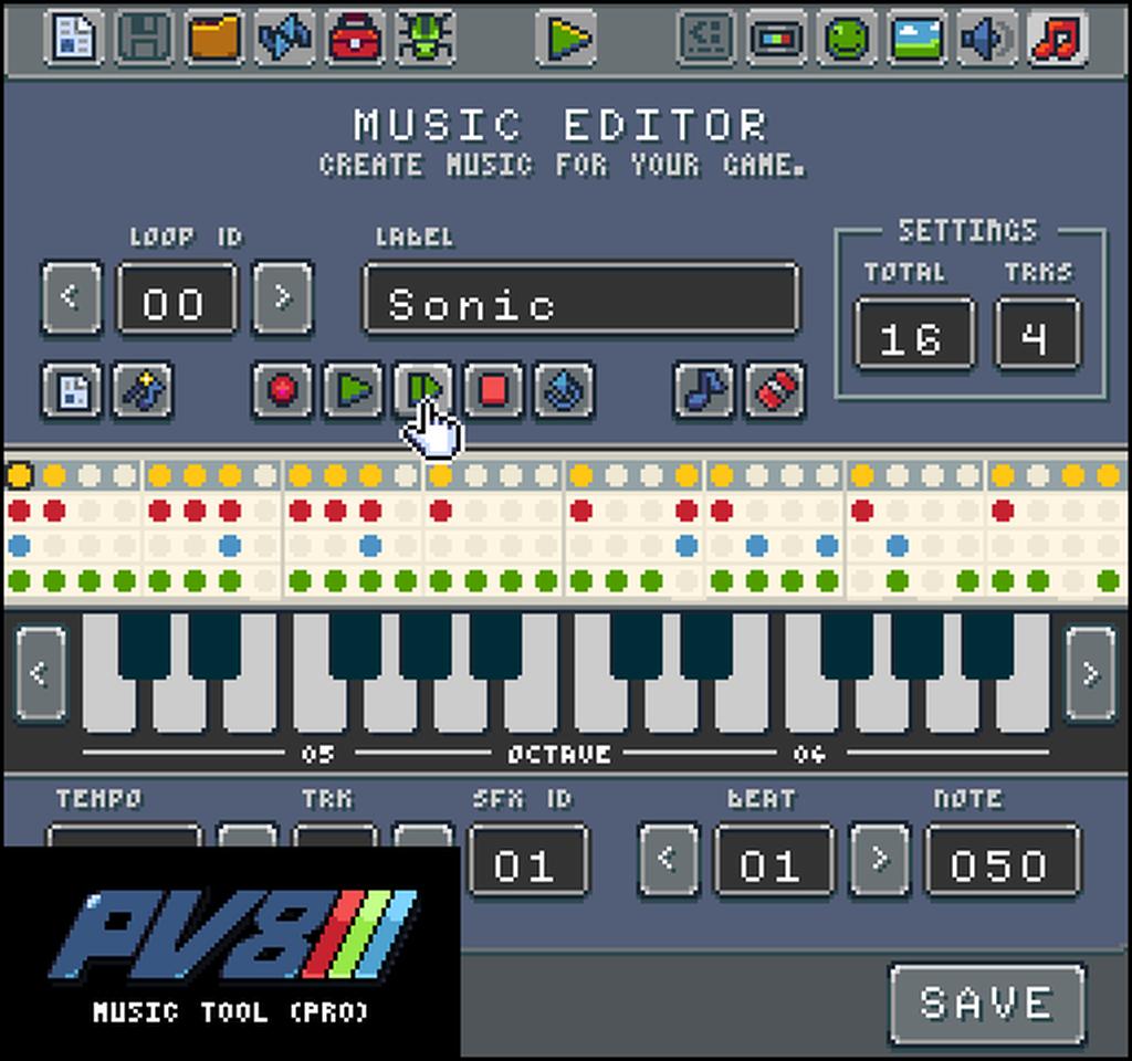 Indie Retro News: Pixel Vision 8 Game Creator - This retro