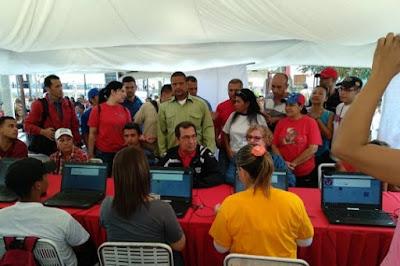 Carnetización del PSUV