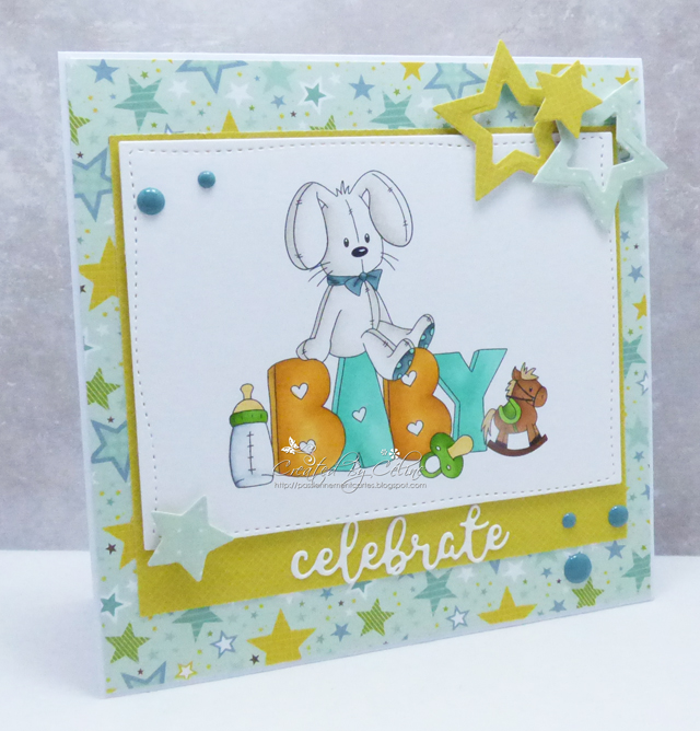 words for a baby card