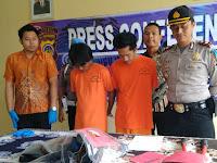Polisi Bekuk Empat Anggota  Komplotan  Pencuri Brankas