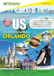 Shaklee trips; free travel to US; Bangkok; Malacca