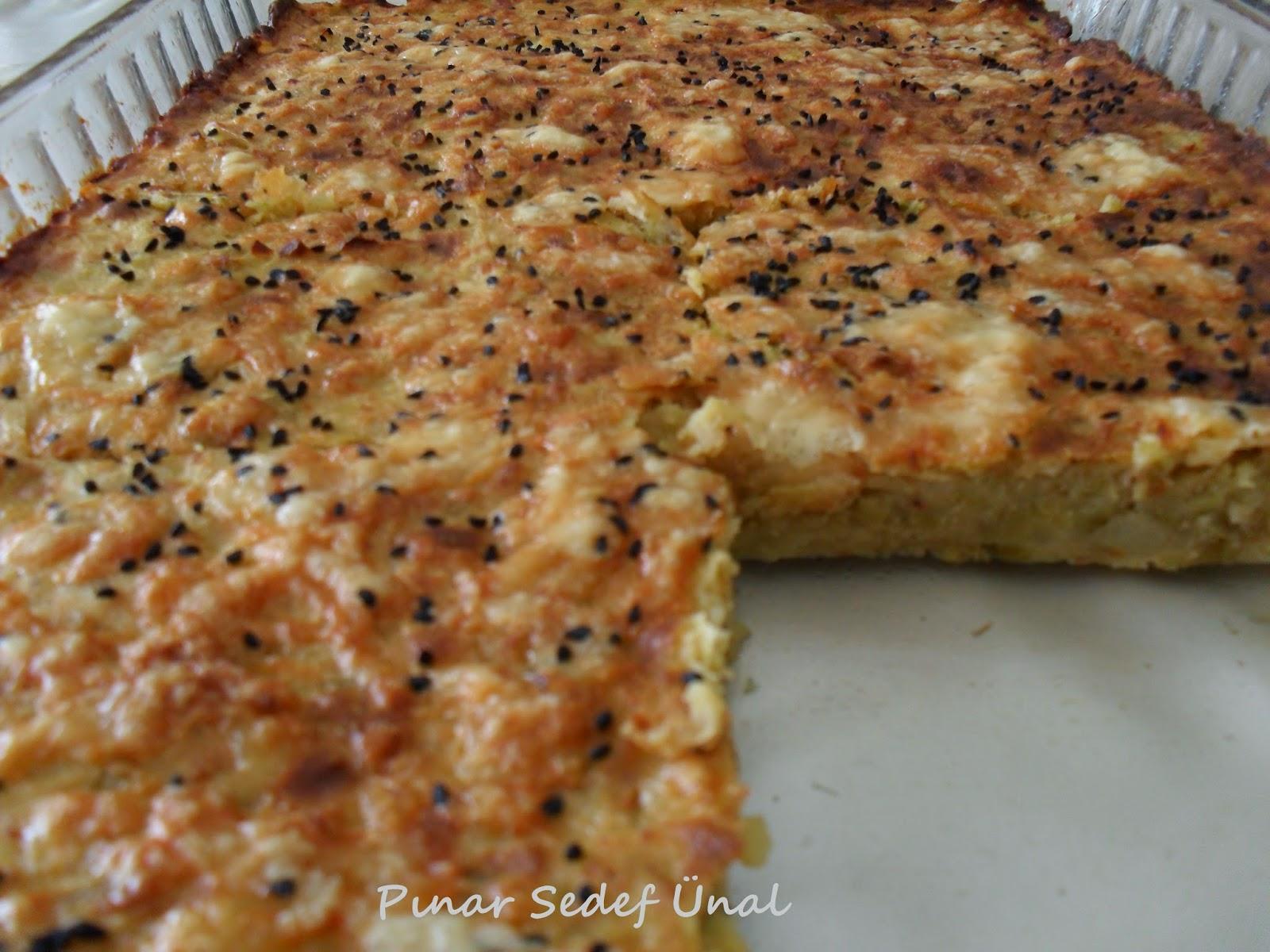 Pırasa Böreği (Fırında Pırasa)