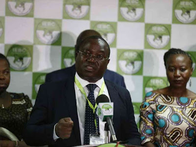ICT Manager Chris Misango on a press statement. PHOTO | Courtesy