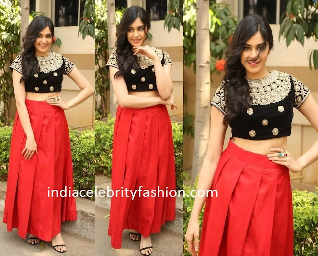 Adah Sharma in Architha Narayanam outfit