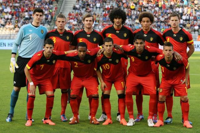 Daftar Skuad Pemain Timnas Belgia