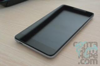 Xiaomi Redmi Note 3 - tampak depan dengan layar mati
