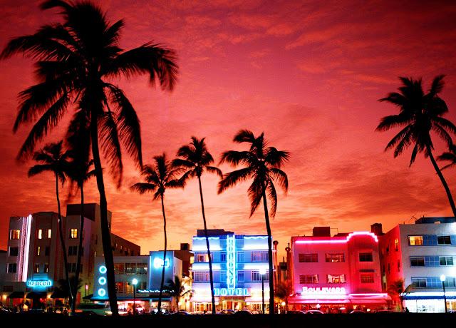 Verão em Miami - Fim de tarde