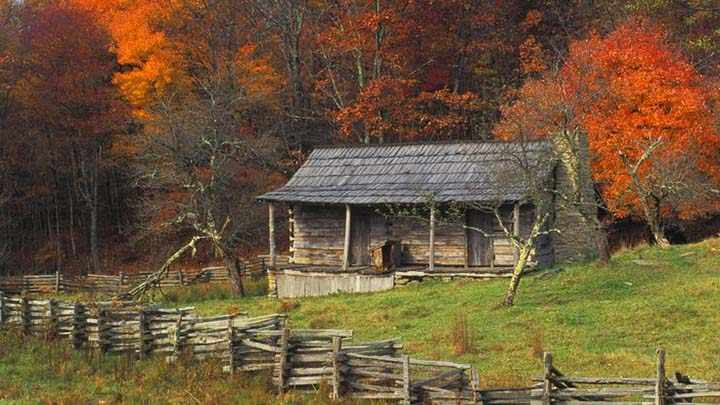 sonbahar manzaralı resimler
