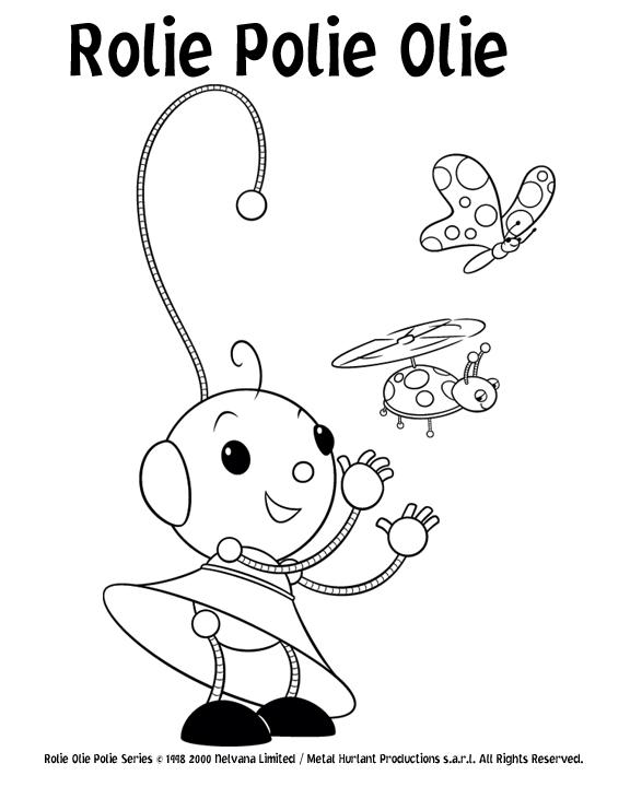 rolie polie olie coloring pages disney | Cartoon Characters: Rolie Polie Olie