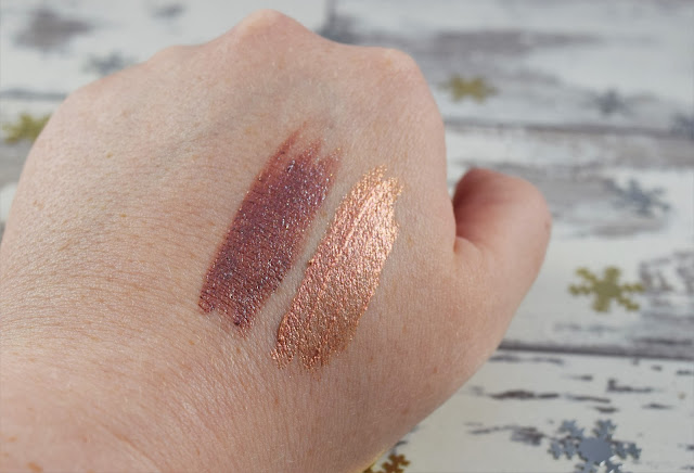 Urban Decay Liquid Moondust Eyeshadow Swatches