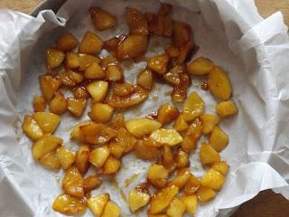 et ses pommes caramélisées