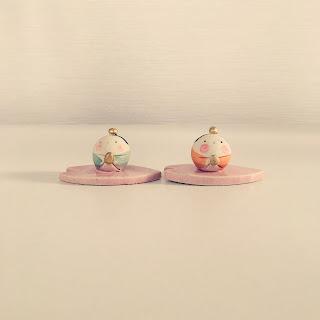 小さい 雛人形 陶器