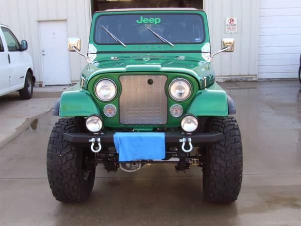 1980 Jeep Cj7 Custom Build Auto Restorationice