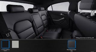 Mercedes A200 2017 màu Nội thất Đen 111