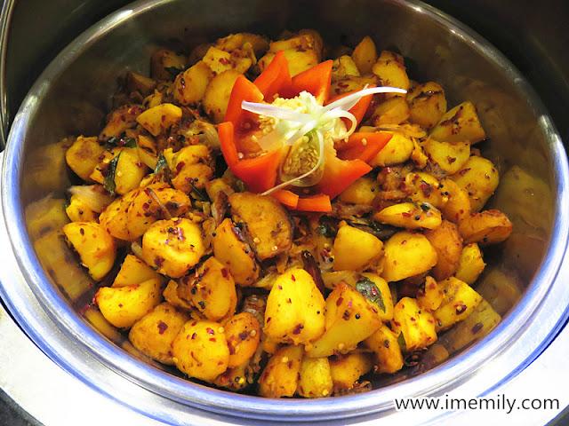Potato Tempered (tender and succulent potato dish)