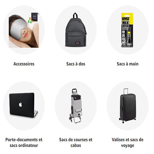 BAGAGES & ACCESSOIRES : Amishop.fr la vitrine avec Amazon.fr  - Découvrez notre vaste sélection de valises, sacs à dos, sacs à main, cartables, sacs pour ordinateurs portables, portefeuilles… Livraison et retour gratuits (voir conditions)