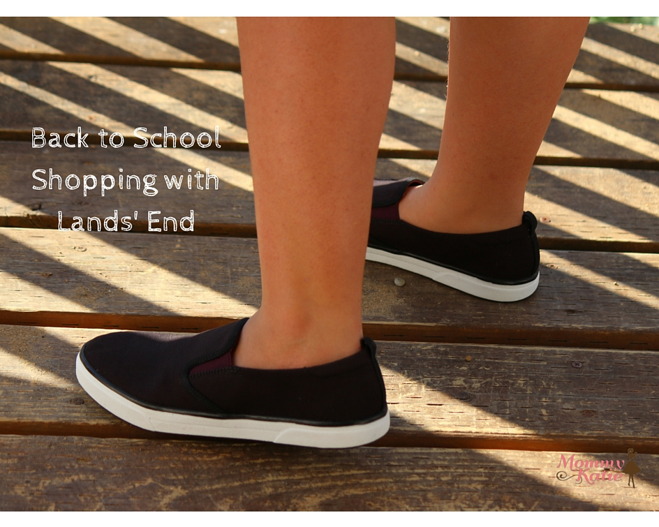 87503b9c9ed Back to School Shopping with Lands  End - Mommy Katie