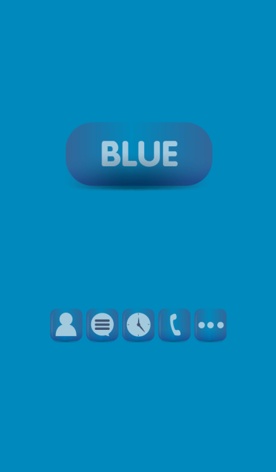 Simple Blue Button theme