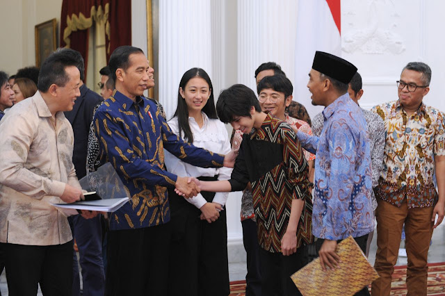 Jokowi Dorong Musisi Buat Visi dan Peta Jalan Musik Nasiona