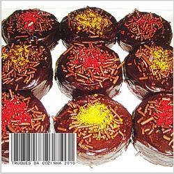 Biscoitos amanteigados com Nutella