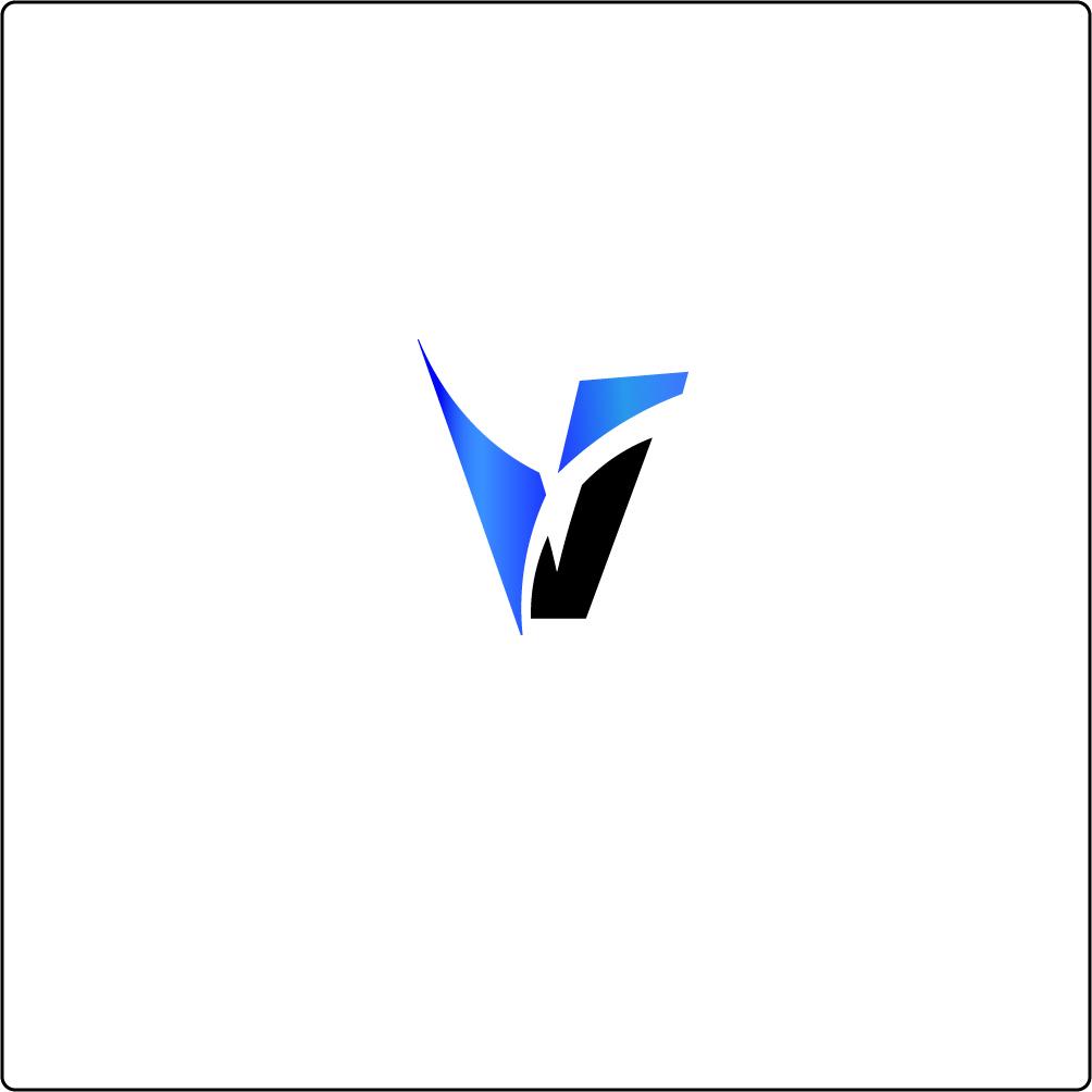 THE DESIGNER WAY TO HAPPINESS: Logo design for letter V