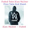 Faded Tabs Alan Walker Free Tabs And Sheet
