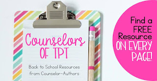 School Counselors collaborative ebook helping counselors build their counseling program on TpT