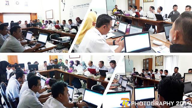 Suasana In House Training Office Intermediate di PT PSMI Way Kanan