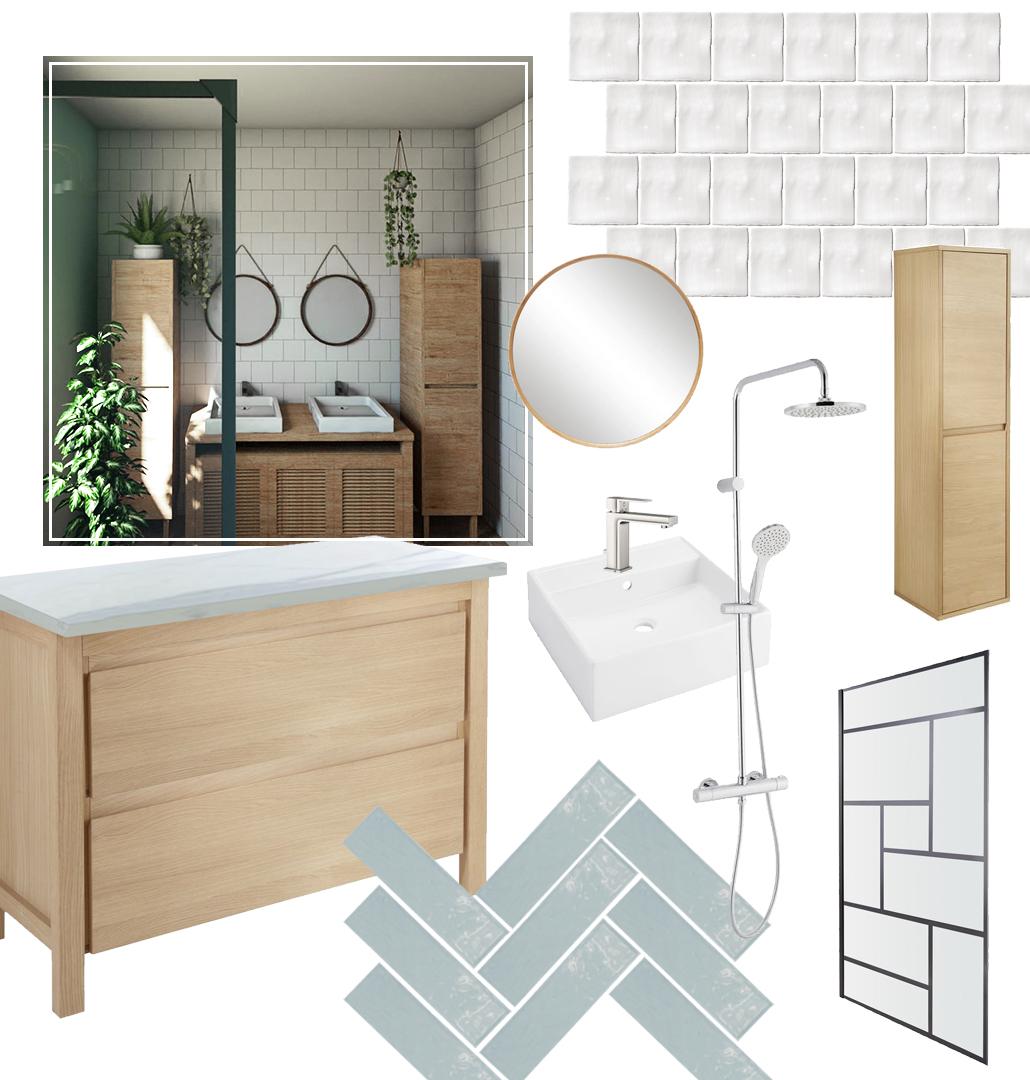 Leanna Earle: [New home] Le projet de notre future salle de bain !