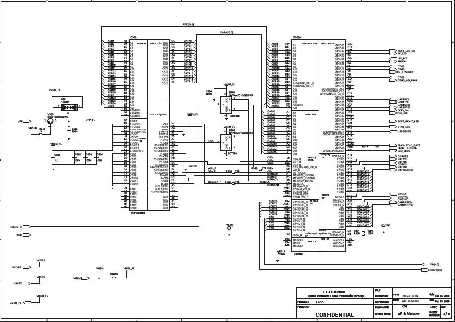 nokia x circuit diagram