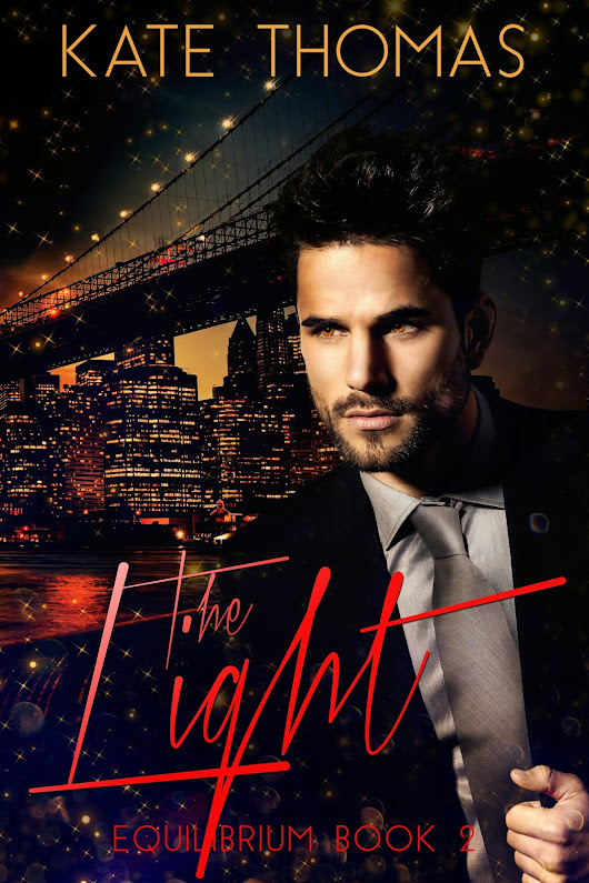 COVER REVEAL - THE LIGHT - EQUILIBRIUM BY KATE THOMAS