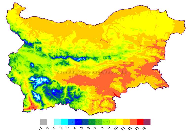 Geografiya Klimat Na Blgariya
