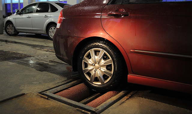 The queue for inspection will return: motorists warned of changes