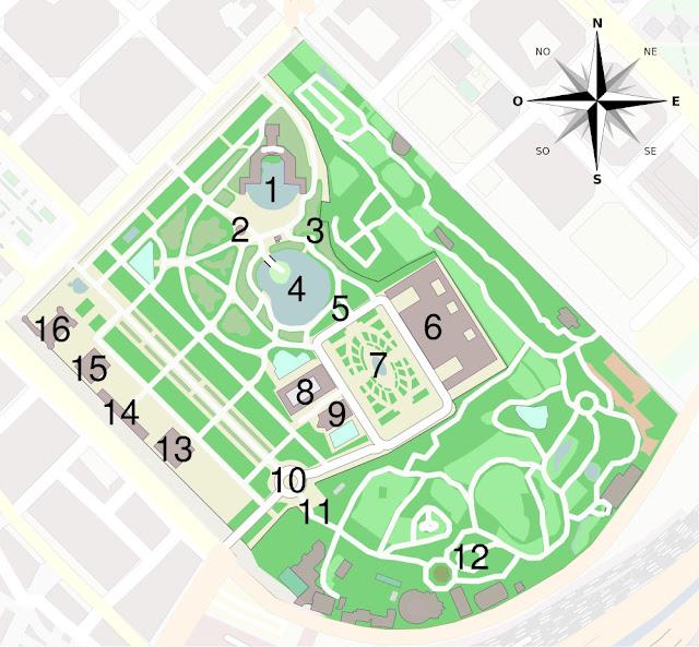 Parc de la Ciutadella em Barcelona