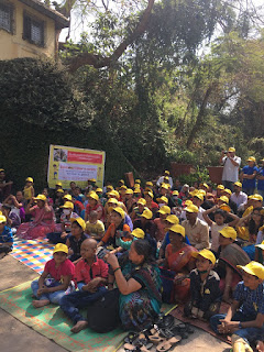 Monument Visit with Worrier & survivors for Childhood Cancer Awareness by CanKids…Kidscan in Mumbai