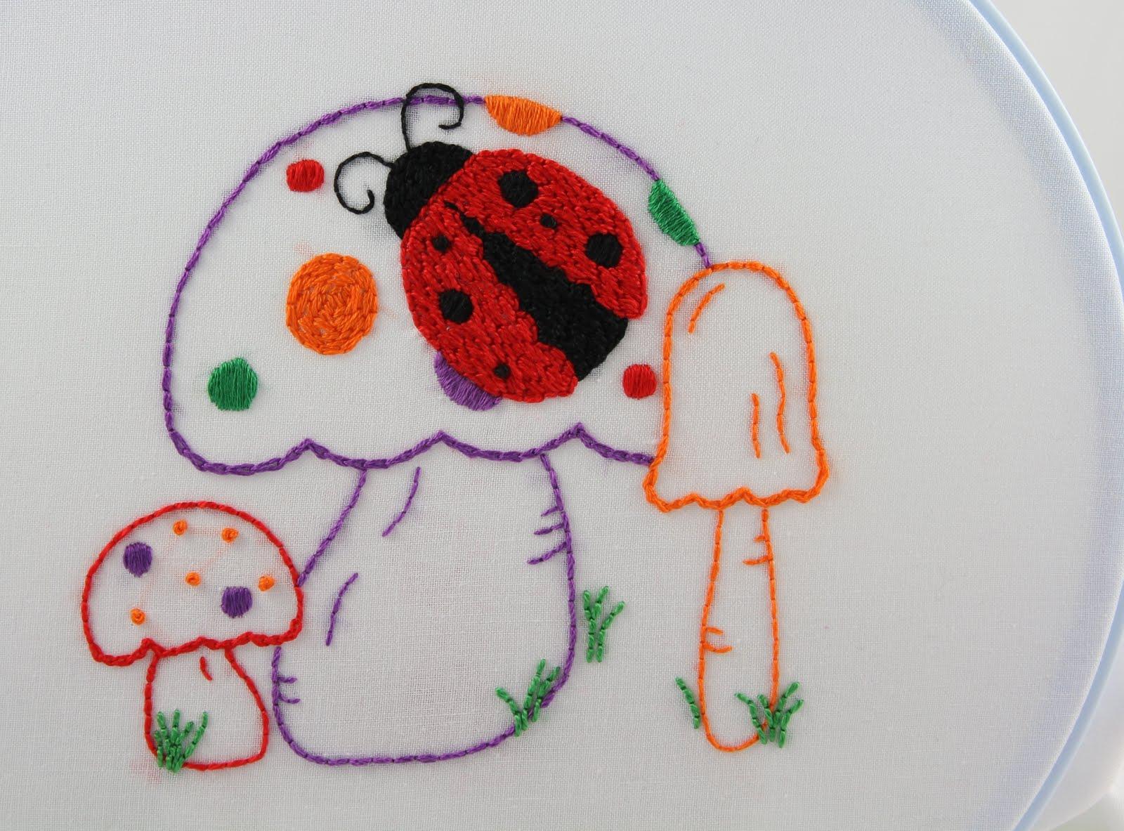 Big b ladybug embroidery pattern packet ladybug embroidery pattern packet bankloansurffo Image collections