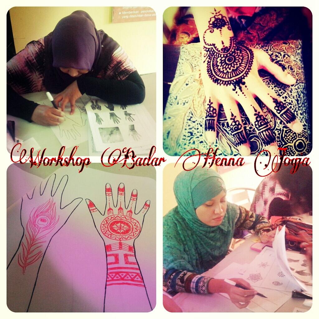 Badar Henna Jogja Workshop Kursus Badar Henna Jogja